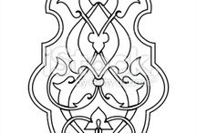 Islamic Border/Pattern Designs.