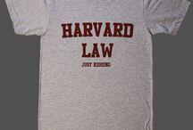 Harward Law Just Kidding T-Shirts