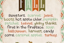 Everything Fall!!  / by Sarah Congleton