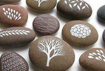 Ζωγραφική σε πέτρες-44