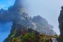 Mountain trail in Madeira, Portugal #HeathrowGatwickCars.com