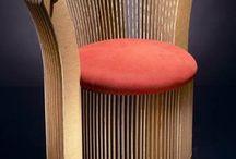 cardboard chairs (The hub)