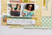 Scrapbook Layouts 1-2 pictures