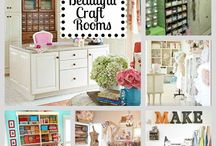 Craft Room Organisation & Ideas / by Joelle Owl-Cat