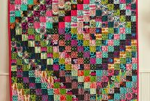 Square and Scrappy Trip Quilts