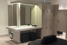 Changing Rooms / Gain inspiration for your health facitilies changing rooms! Working with a single install means every element of your changing room integrates seamlessly. Shower cubicles, lockers, flooring, wash basins right down to basic sanitary facilities work together and give the customer a seamless experience.
