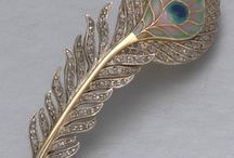 Brooch ~ FEATHER ~ Pena  Jewelry
