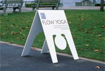 Sandwich Boards and A-Frame Inspiration / Even something as simple as a sandwich board can help you standout if you use the right materials and a touch of creativity.