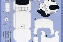PaperToys, Pliages & Origami / Des Papertoys, des pliages et Origami à découvrir.