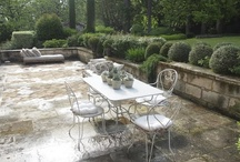 terraces and patios / those outdoor spaces that function as additional rooms weather permitting