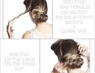 Hair, Makeup and tips
