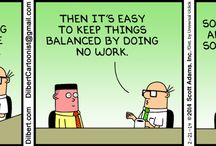 Funny Dilbert strips & articles