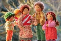famiglia bamboline