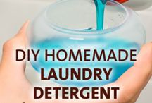 DIY Cleaning & Organization  / DIY home cleaning tricks and tips, plus recipes, and how-to's on organizing your home and life. / by Justina Thrun-Crouchley