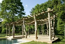 pergolas / lawn and graden accents