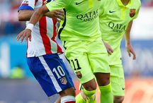 Neymar Jr , Lionel Messi i Arda Turan