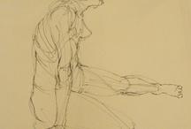 Figure drawings / Pencil ink etc