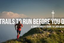 Trailrunning en running - bucketlist