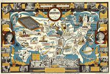 Illustrated Maps / by Matt Hinrichs Design & Illustration