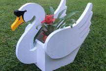 Tuinfiguren maken