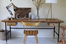 Desk Job: Desks, Home Offices, Studies & Work Spaces / by Crossville Tile