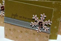 Jul til kortlaging / God Jul Noel Christmas Santa Nissen Grinchen... og så ble det til enda en mappe med kort kort'ere og kort'est...