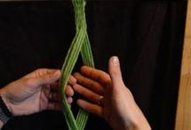 Sprang - finger weaving