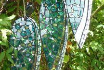 Cd Crafts Garden Wind Chimes