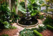 fontane e giardini