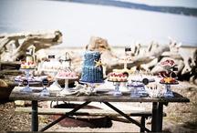 Beach dessert tables