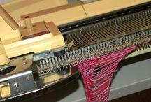 Machine knitting / by Kate
