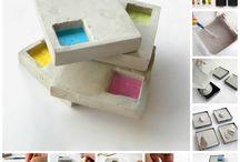 Αντικείμενα με τσιμέντο (cement design)