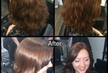 6S Hair Before & After / Fabulous hair before and after by the Art Team @SixthSenseSalon