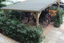 schuur/fiets