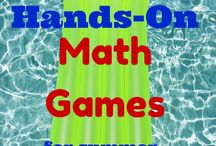 Summer Math Activities / by Math-U-See