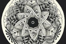 Zentangle / Inspirations and patterns