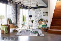 """Esprit 11 - A.S. Creation / Die neue Tapetenkollektion """"Esprit 11"""" führt Sie mit stilvollen Mustern und Farben durch das Jahr. Blätterranken, Streifen und Muster die an handgearbeitete Teppiche erinnert bringen mit frischen Farben die Jahreszeiten in Ihre Wohnräume."""