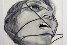 Art: Identity / emotion, expressions, true expression, unusual angles idk,,