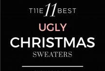 Ausgefallene Weihnachtspullover - Ugly Christmas Sweaters / Coole, hübsche und hässliche Weihnachtspullover für Weihnachten, zur Bade-Taste-Party oder einfach so! Reinschauen und los Lachen....