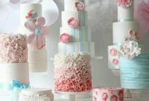 Aqua and pink party