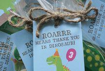 Dinosaur Bday party