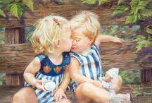 adorable peinture / Illustration cute cute / by Jocelyne Marcil