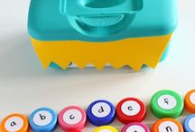 new baby toy/games / by Tina La Casse
