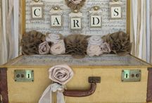 Cards & Gift Box Inspiration / Check out these fab ideas for displaying your wedding cards and gifts.