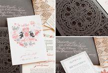 I LOVE stationery!!  / Stationery & paper LOVE #stationery #invitations #savethedates #menu #programs #maps #envelopes #weddings #parties #paper  / by LaToya Parnell
