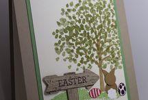 Easter Crafts / Easter crafts, Stampin Up!, crafts, stamping, bunnies, easter