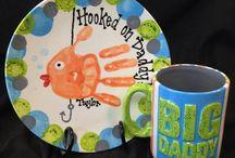 Plávajúca ryba na tanieri