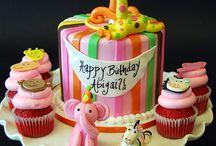 Kiddies b-day cakes