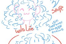 Tutorials (Sketch , Lineart &Coloring)