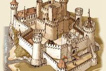 Drawing: Castles/Buildings